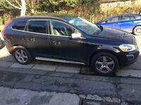 2010 10reg Volvo XC60 2.4 Turbo Diesel R Design Black