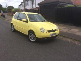 VW Lupo 1.4 Yellow 2001
