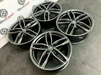 """NEW 18"""" 19"""" 20"""" 22"""" AUDI RS STYLE ALLOY WHEELS - ALSO AVAILABLE WITH TYRES - 5 x 112"""