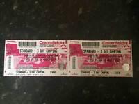 Cream field tickets