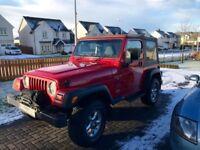 Jeep Wrangler TJ 1997 Petrol/ Gas 4x4