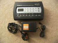 Roland TD-3 / TD3 Electronic V Drums and Percussion Sound Module with Power Supply.