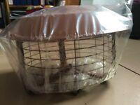 Chimney Cowl, Junior multifuel birdguard terracotta, inc fittings new