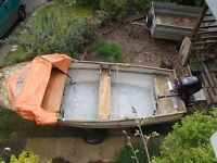 Fishing Boat, Trailer & outboard. Offers considered