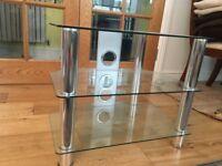 Glass Shelf Table