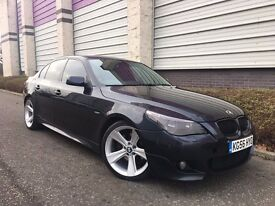 2006 56 BMW 5 SERIES 3.0 530d M Sport Saloon 4dr Diesel Manual ***LEATHERS+REMAPPED+MANUAL***