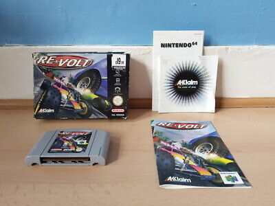 Re-Volt N64 Complete Good Con