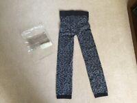 NEW Avon Body Illusion Leopard Print Leggings Size 10-12 NEW