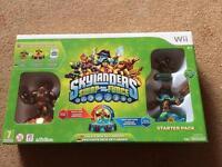 Brand new in box skylanders Swap force starter pack for the wii