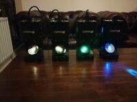 Beamz Wildflower LED GOBO Scanner Light disco light party light lights