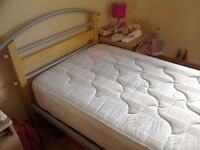 3ft single bed and mattress