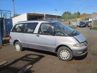Toyota Lucida MPV 2.2 TD 1994 breaking for spares Wheel Nut.