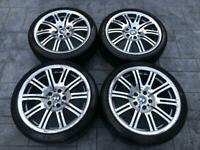 """Genuine BMW E46 M3 19"""" Style 67M Staggered Alloy Wheels Set."""