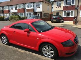 Audi TT 1.8 T 3dr Low millage& full service , MOT til Mar 2019