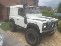 Defender 90 td5 3 in 1 hardtop, canvas top, truck cab