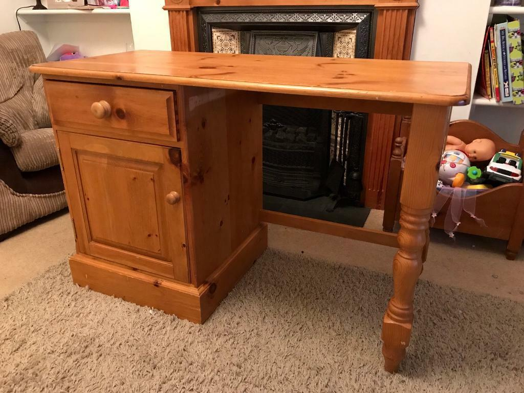 Quality Solid Pine Desk/Dressing Table