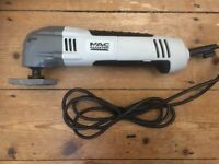Mac Allister 220-240V 300W Corded Multi tool MSMT300J - With bag - hardly used