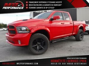 2013 Dodge Ram 1500 Sport R/T - GPS - Lift kit - Pneu 35'' - Loo