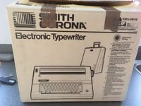 Smith Corona electronic typewriter £25