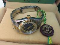New Swiss Ladies Rolex Oyster Datejust Perpetual Automatic Watch, two tone
