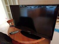Samsung LE32D400 LCD TV 32 inch HD ready, Black
