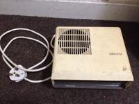 Electra Portable Fan Heater Model GLN FH2 93