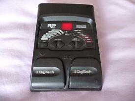 Digitech RP55 multi effects unit includes drum machine