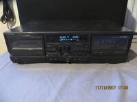 TECHNICS RS-TR474 Double cassette tape deck Dolby B C HX PRO auto reverse
