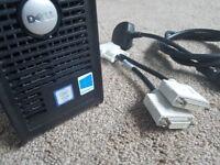 DESKTOP PC DELL INTEL XEON QUAD CORE 2.83GHz 8GB RAM 1TB HDD RADEON WIN 10 PRO +MS OFFICE +KASPERSKY