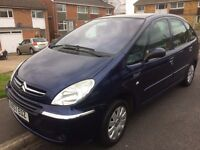 2008 Turbo Diesel Citroen Picasso new MOT alloy wheels, nippy and economical