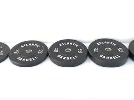 Bumper plates multi weight sets from £35