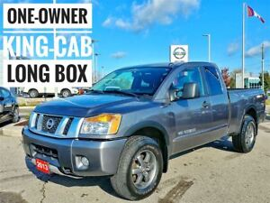 2013 Nissan Titan PRO-4X KING CAB  Free Delivery