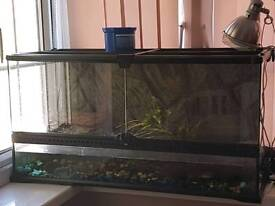 Turtle/lizard tank