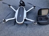Go Pro Karma Drone And Grip With Back Pack Case Charger Controller Etc