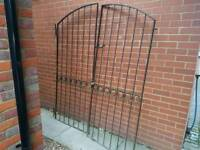 Double Door Metal Gate - Side Entrance, Main Drive Entrance, Garden Fence