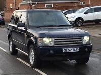 2003 LAND ROVER RANGE ROVER 3.0 TD6 DIESEL VOGUE FULLY LOADED HSE SE X5 CAYENNE Q7 TOUAREG PX