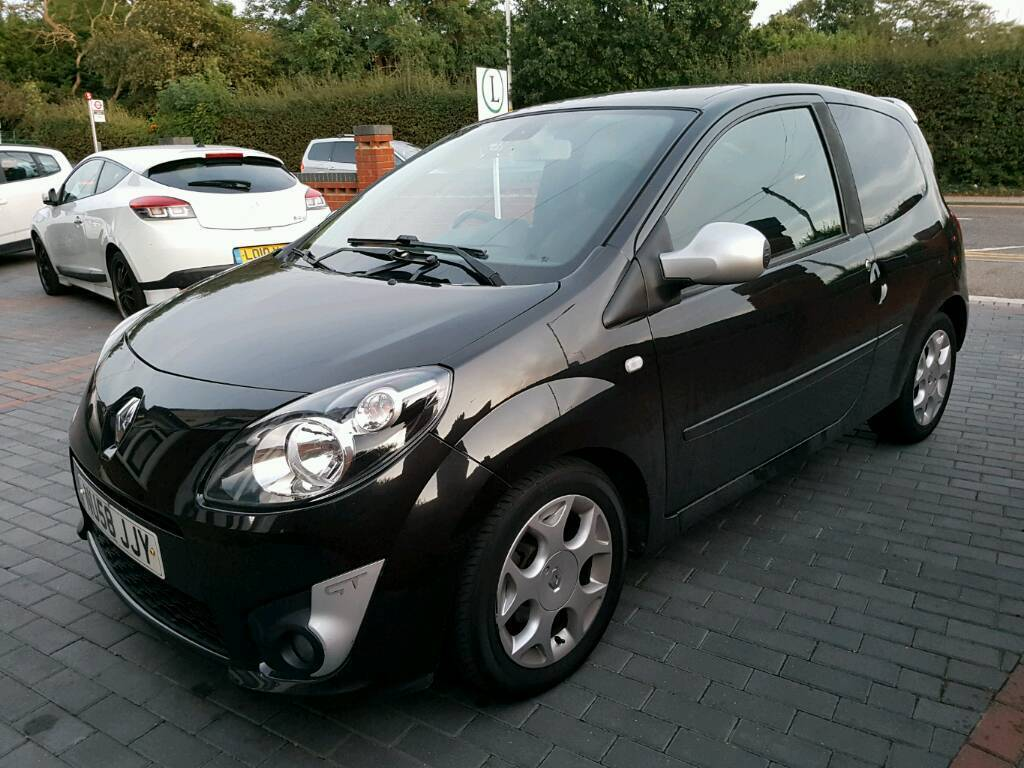 2008 39 58 renault twingo gt tce black 1 2 turbo 5 spd manual very good condition alloys cd. Black Bedroom Furniture Sets. Home Design Ideas