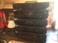 Sony separate stack hi fi system