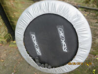 Used 3 foot trampoline with 6 legs,