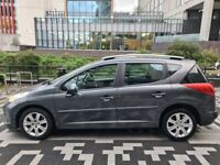 PEUGEOT 207 1.6 HDI DIESEL SW ESTATE *MAJORWORK DONE* TOP SPECIFICATION 307 308 vauxhall vectra