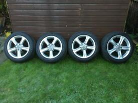 "Audi 17"" Alloy Wheels for sale"