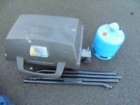 GAS BARBECUE, GAS BOTTLE and REGULATOR