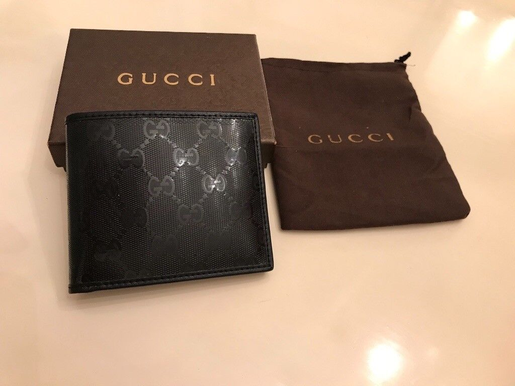 9b14eceea0879a Brand New Men's Gucci wallet presented in a box   in Ilford, London ...