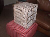 Marks and Spencer Rattan Wine Rack