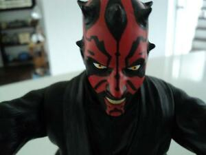 MINT STAR WARS DARTH MAUL CUP & POSEABLE FIGURE TOPPER