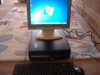 hp 5000 desktop pc ,intel ceceron ,