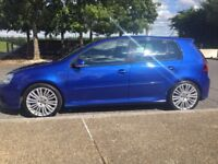 VW Golf R32 with Wingback bucket seats + xenons + FSH