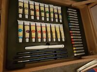Box of art supplies - never used - brand new