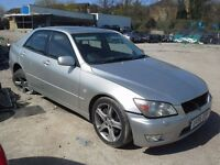 BREAKING LEXUS IS200 IS300 CAR PARTS SPARES BREAKING 1999-2005 MODEL