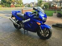 Honda VFR800 Fi Y, pre-VTEC, Excellent runner, rare blue. MOT December